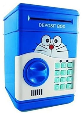 OH BABY Electronic Money Safe Box Mini ATM Machinefor kids Coin Bank Coin Bank FOR YOUR KIDS