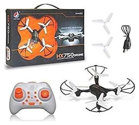 Oh Baby HX750 Drone 2.6 Ghz 6 Channel Remote Control Quadcopter Stable Remote-Control Quadcopter With Two Extra Blades (White)