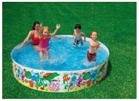 OH BABY  Intex Pool  Multi Color (5 ft x 30.48 cm (12 inch)) SE-AT-12