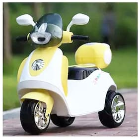 Oh Baby Little Chime Baby Scooter Battery Operated Ride On Bike With Music And Light For Your Kids