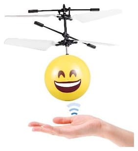 OH BABY Mini Infrared Induction Flying Balls Emoji RC Helicopter Toys for children FOR YOUR KIDS