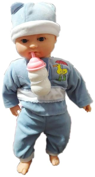 OH BABY Musical Happy Baby BIBI  Boy|Doll Stuffed Toys MUSIC with Sound
