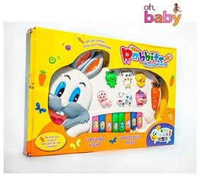 OH BABY Rabbit Piano Musical Toy SE-ET-105