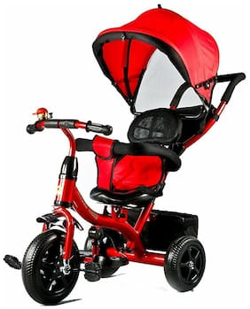 Oh Baby Tricycles Plastic Red Boys;Girls for Kids SE-TC-75