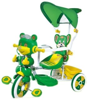 Oh Baby Tricycles Plastic Green Boys;Girls for Kids SE-TC-131