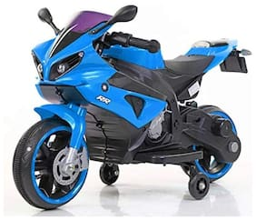 OH BABY  Yamaha R1 Bike with Rechargeable Battery Operated Ride-on for Kids(2 to 5yrs),Blue