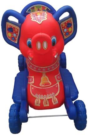 Oh BabyMulticolor Rocking Plastic Elephant With Wheel Oh BabyMulticolor Rocking Plastic Elephant With Wheel SE-RT-37
