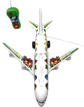 ONCEMORE Compatible Present Unique Plastic Aeroplane Remote Plane Kids Toys(White) Assorted