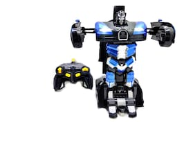 ONCEMORE Compatible by New Compatible Automatic Convert / Transformer Toy Racing Car to Robot for Kids