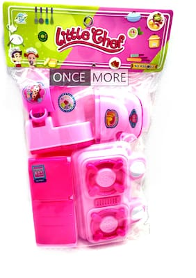 ONCEMORE Compatible by New Kitchen Set Toys for Kids Girl