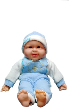 ONCEMORE Doll with 3D Shining Eyes;Soft Body & Real Dress - Assorted Models