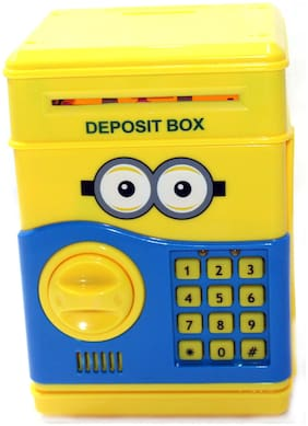Oncemore Electronic Money Safe Box Mini Atm Machine For Kids Coin Bank Coin Bank For Your Kids