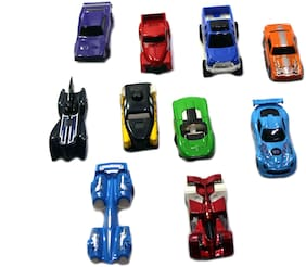 ONCEMORE hot wheel pull back car set of 10