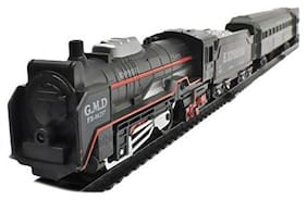 Oncemore Live Long Old Steam Engine Light Train Set Toy