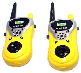 ONCEMORE Walkie Talkie Set with Extendable Antenna for Extra Range for Kids
