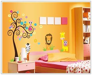 Oren Empower Jungle Safari Wall Sticker
