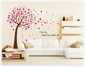 Oren Empower Peach Tree Decorative Wall Sticker
