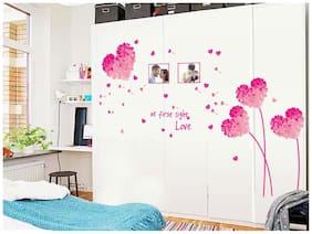 Oren Empower Pink love heart decorative wall sticker