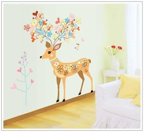Oren Empower Fantastic Deer Christmas Wall Sticker