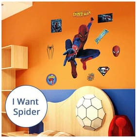 Oren Empower Favourite of kid's Spiderman PVC decal for kids room