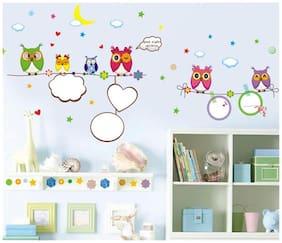 Oren Empower Creative art decorative Owl wall sticker