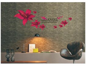 Oren Empower Angel Safflower Wall Sticker