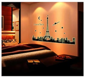 Oren Empower Great Luminous Paris Wall Sticker
