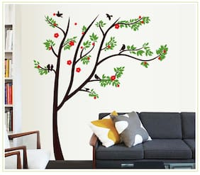 Oren Empower Spring tree DIY decorative removable wall sticker