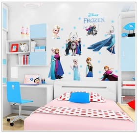Oren Empower Frozen girl princess wall stickers