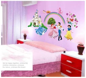 Oren Empower New design of cute Princess wall sticker