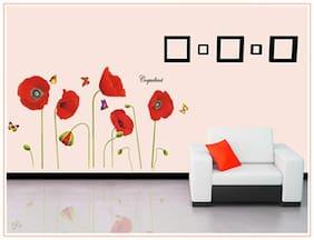 Oren Empower Poppy Plants Wall Sticker