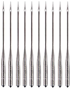 Original Organ Needles NO HA 14 (4 Packs, 20 Needles ) Works With All Automatic Home Use Machine Needles ( Usha / Singer / Brother / Rajesh), Auth distributer :- VARDHMAN FANCY STORE