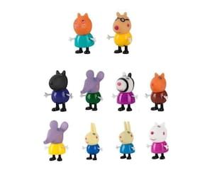 P S Retail Cute Mini Animals Toy Figurines - Action Figure- (10pcs/Set)