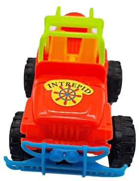 (Pack of 3 pc) Colourful Play way Mini Car