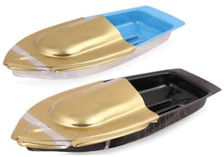 Pack of Steam Toy Boat Pop Put Putt Candle Powered Fuel Flame with Dropper (pack of 2)