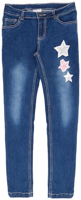 Pantaloons Junior Girls Jeans Blue