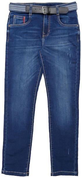 Pantaloons Junior Boy's Slim fit Jeans - Blue
