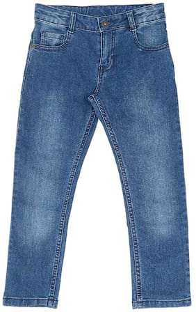 Pantaloons Junior Boy's Slim fit Jeans - Blue