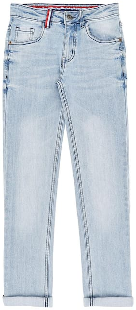 Pantaloons Junior Boy's Regular fit Jeans - Blue