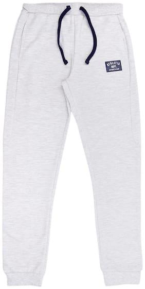 Pantaloons Junior Boy Cotton Track pants - Grey