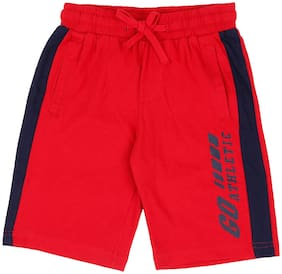 Pantaloons Junior Boy Red Shorts