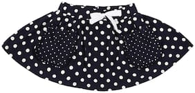 Pantaloons Junior Girl Cotton Printed A- line skirt - Blue