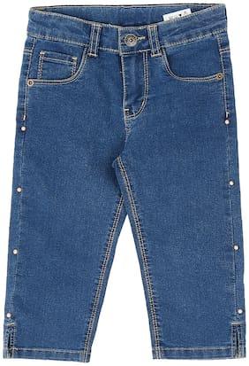 Pantaloons Junior Girl Indigo Jeans