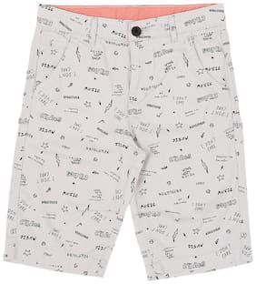 Pantaloons Junior Boys Grey Shorts