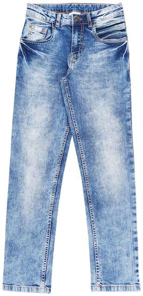 Pantaloons Junior Boy's Regular fit Jeans - Blue