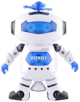Param Best Musical And Naugty Dancing Robot - 3D Lights And Very Attractive Musical Robot For Kids