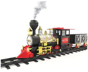 Param Classical Battery Operated Radio Control Smoke Train set (21 Pcs)(Multicolor)