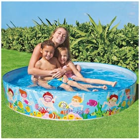 Param Intex Ocean Reef Snapset Pool, Multi Color (5 feet x 15 inch)