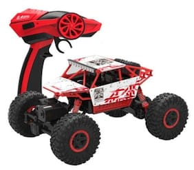 Param ROCK CRAWLER (Original) 1:18 Scale 4WD 2.4 Ghz 4x4 Rally Car (Red)