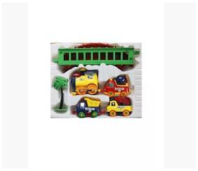 Parteet Cartoon Play Train Set for Kids